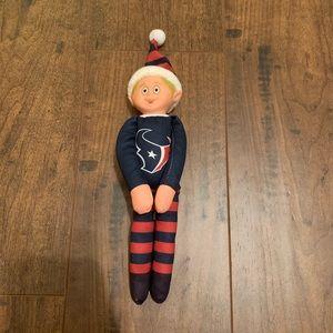 Houston Texans elf on the shelf